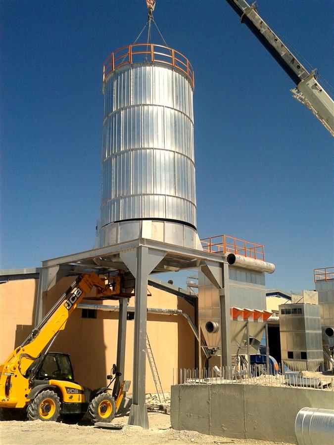 silo de armazenamento para industria de madeira