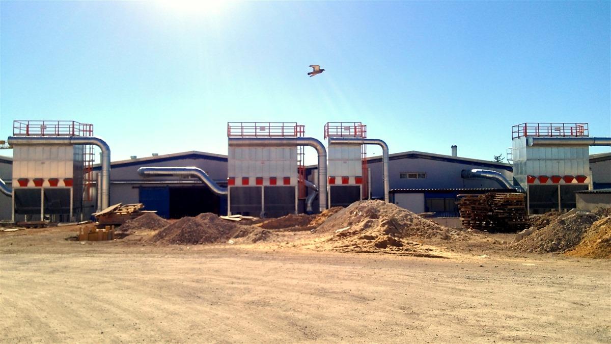 filtros e silo para sistema de aspiração