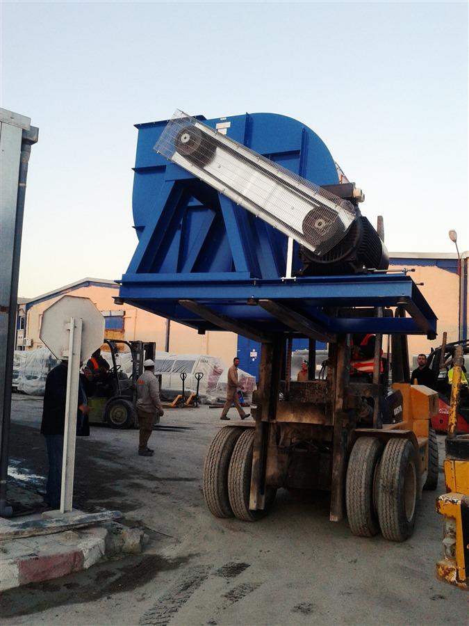 ventilador industrial para sistema de aspiração industrial